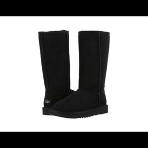 New Classic Tall Ugg Boots in Black Size 9